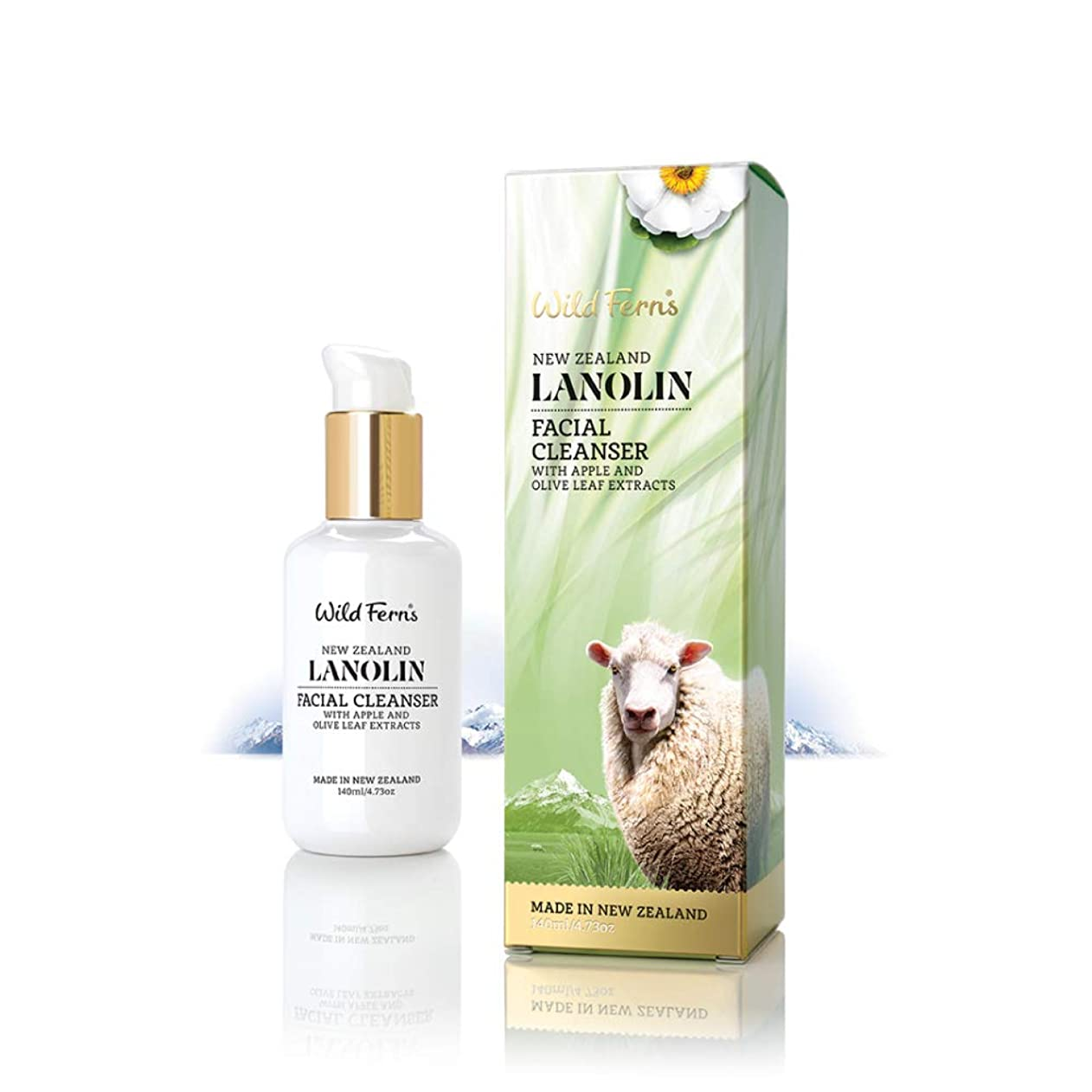 コイン美的役員Lanolin Facial Cleanser 140ml
