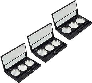 Beaupretty Lege oogschaduw make-up met spiegel voor oogschaduw, lippenstift, rouge, poeder, lippenstift, rouge, poeder, 3 ...