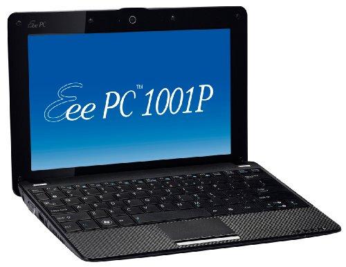 Asus Eee PC 1001P 25,7 cm (10,1 Zoll) Netbook (Intel Atom N450 1.6GHz, 1GB RAM, 160GB HDD, Win XP) schwarz