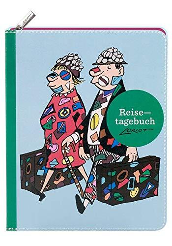 Loriot - Reisetagebuch: notizbuch;notizen;to ... hriften;karikatur;reinschreiben;reisetagebuch