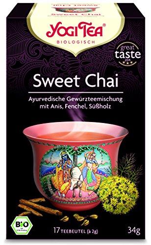 YogiTea® Sweet Chai Tee BIO 6 Packungen