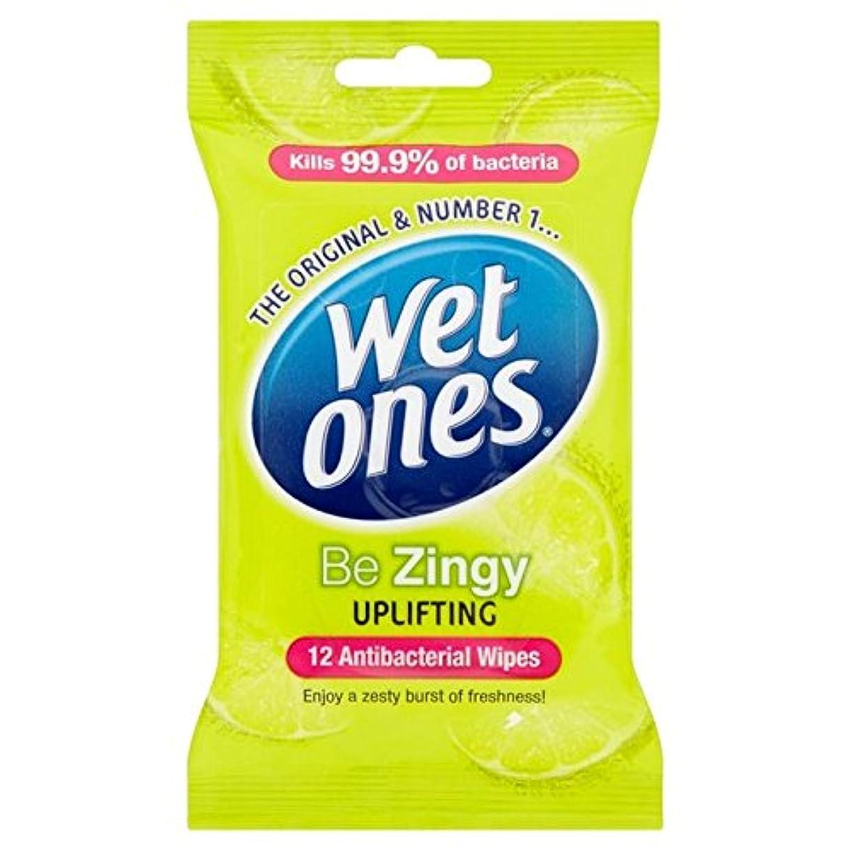 脅威ビザはいWet Ones Cleansing Anti Bacterial Wipes 12 per pack (Pack of 6) - 抗バクテリアをクレンジング湿ったものはパックごとに12ワイプ x6 [並行輸入品]