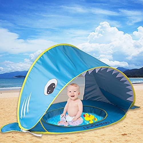 Tienda Playa Bebe, Pop-up Tiendas de Campaña con Piscina para bebé Niños...