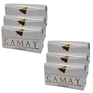 International Camay White Naturel Soap Body Bath 4.4 Oz Bars (6 Pack)