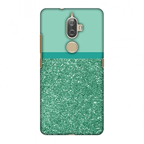 Amzer Slim Fit Handcrafted Designer Printed Snap On Hard Shell Case Back Cover with Screen Cleaning Kit Skin for Lenovo K8 Plus - All That Glitter 1 HD Color, Ultra Light Back Case
