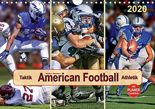 American Football - Taktik und Athletik (Wandkalender 2020 DIN A4 quer): Teamsport der Extra-Klasse (Geburtstagskalender, 14 Seiten ) (CALVENDO Sport)