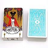 Jjwwhh Hot Carte Tarocchi Nuova Durevole Destiny Divinazione Tarocchi Luce Tarocchi Visions, con la Bella Pittura, per Il Partito della Famiglia e intrattenimento