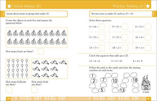 『DK Workbooks: Math, Kindergarten: Learn and Explore』の4枚目の画像