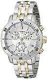Tissot Men's T0674172203100 PRS 200 Silver Chronograph Dial Watch