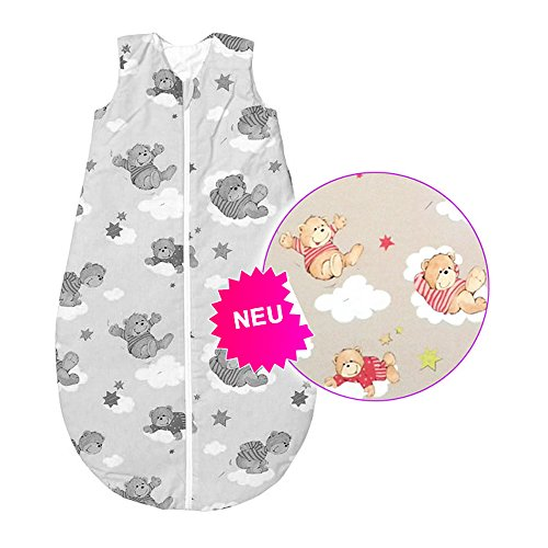 Baby Nice bei Odenwälder wattierter Schlafsack 110 cm - Basic-Schlafsäcke zum Knallerpreis!
