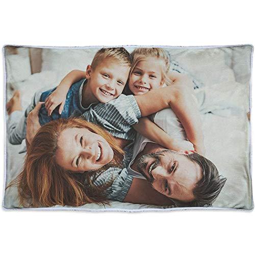 Manta Personalizada con Foto.Regalos Personalizados con Foto o diseño. Manta Polar Personalizada 1 Cara. (200x150cm)