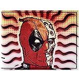 Cartera de Deadpool Wade Media máscara Rojo