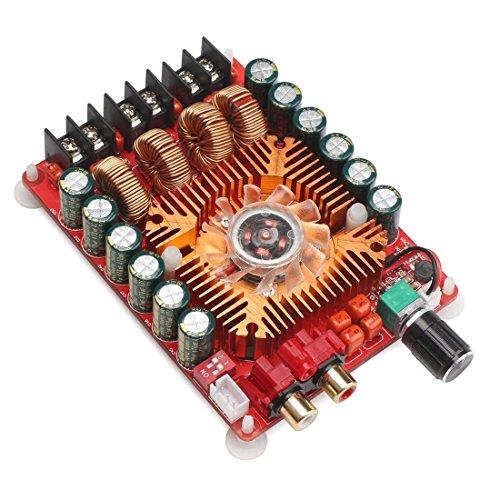 Gesh Tda7498E 2 x 160 W Amplificador de audio de dos canales, compatible con modo BTL 1 x 220 W monofillar, módulo de amplificador estéreo digital de 24 V para ordenador de coche