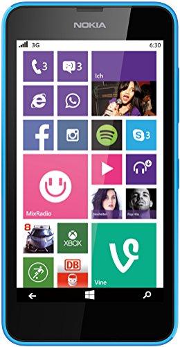 Microsoft Lumia 630 ohne Vertrag cyan