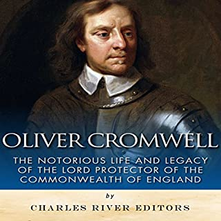 Oliver Cromwell audiobook cover art