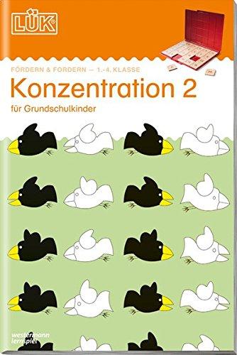LÜK-Übungshefte / Fördern und Fordern: LÜK: Konzentration 2: für alle Grundschulkinder