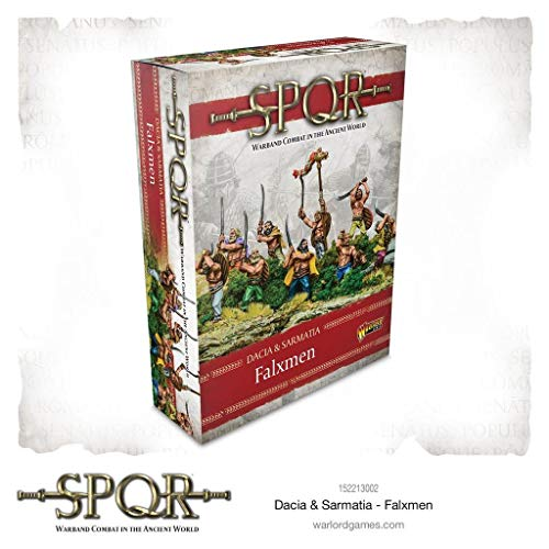 SPQR Warlord Games Dacia & Sarmatia - Dacian Falxmen SW