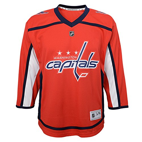 Outerstuff NHL NHL Washington Capitals Kids & Youth Boys Replica Jersey-Home, Red, Kids One Size
