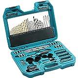 Makita P-90370 - Juego de accesorios para taladro y brocas (120 piezas), color verde