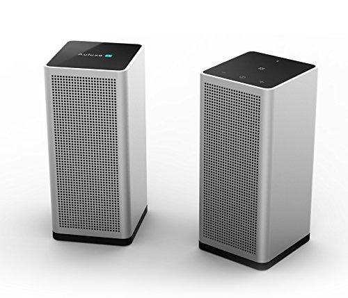 Auluxe S1 - PC Lautsprecher Box mit Bluetooth und NFC - 2.0 Stereosystem und Touch Control für besten Musik-Klang