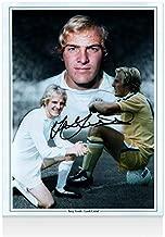 Terry Yorath Signed Photo - Leeds United Montage Autograph - Autographed Soccer Photos