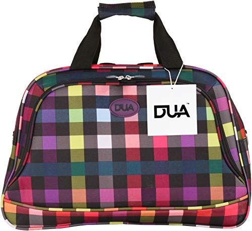 DUA Lightweight Strong Cabin Sized Approved Hand Luggage/Flight Bag/Travel Bag/Over Night Bag Multi Box 5 Year Warranty