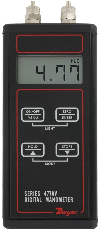 Cheap Dwyer 477AV Handheld Digital Manometer psi New life Air 477AV-8 0-150