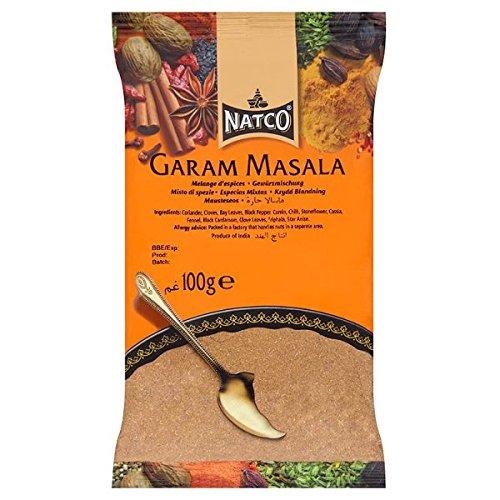 Natco Garam Masala 100g (paquete de 100 g)