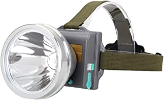 ZXC Home Outdoor Headlights Family Camping Rechargeable Led Lamp Wearing Wild Fishing Waterproof Remote Strong Light Tube Convenient (Color : B)