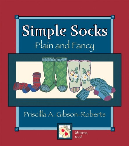 Simple Socks: Plain And Fancy (English Edition)