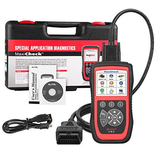 Autel Scanner MaxiCheck Pro for ABS Brake Auto Bleeding OBD2 Scan Diagnostic Tool, with SRS Airbag, Oil Reset, SAS, EPB, BMS for Specific Vehicles, Software Lifelong Free Update, NOT Support All Cars