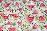 Stenzo – Jersey Stoff mit Wassermelone I Digital Druck