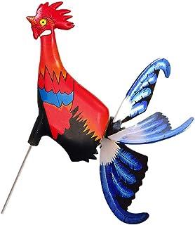 Yardwe Bahçe Rüzgar Spinners Hayvan Tavuk Yel Değirmenleri Fırıldak Çocuk Oyuncakları Açık Dekorasyon Için Yard Çim Veranda