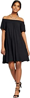 Mossimo Women's Off The Shoulder Shift Knit Dress