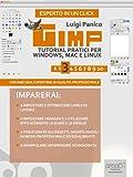 Gimp. Tutorial pratici per Windows, Mac e Linux. Livello 3 (Esperto in un click) (Italian Edition)...