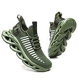 GSLMOLN - Zapatillas de deporte para hombre, para caminar, para exteriores, ligeras, para correr, para el tiempo libre, transpirables, para entrenamiento, 39-46 UE, color, talla 42 EU