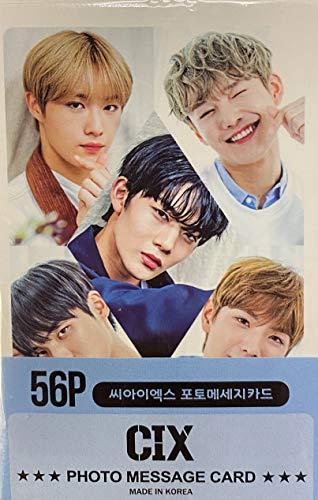 K-POP Group New Photo Message Card 56pcs set (Postcard / 56sheets) (CIX)