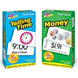TREND ENTERPRISES, INC. T-53905 Time and Money Skill Drill Flash Cards Assortment