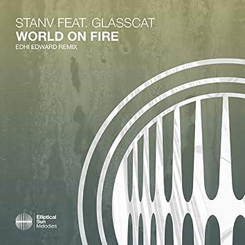 World On Fire (feat. glasscat) (EDHI EDWARD Remix)
