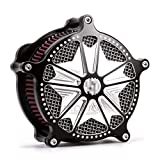 Filtro de aire de corte de aire del filtro de aire de Harley Sportster Harley Davidson XL para Harley Davidson XL Sportster 1991-2014 2013