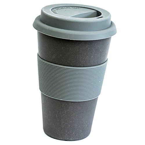 Magu Trinkbecher Coffee to Go Natur-Design Schiefer