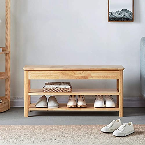 N/Z Home Equipment Shoe Cabinet 2 Tier Bamboo Shoe Rack Bench Shoe Organizer Storage Shelf Ideal For Entryway Hallway Bathroom Living Room and Corridor Corridor Shoe Cabinet Hallway Cupboard