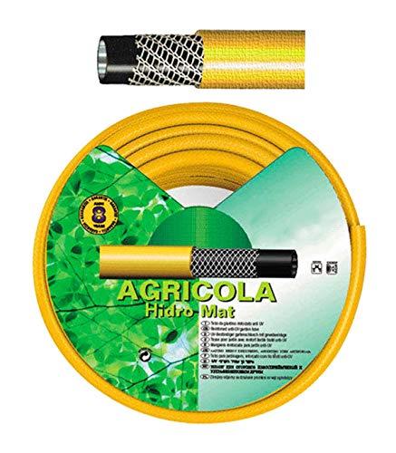 """SATURNIA 8071000 Manguera Amarillo Hidro Mat 15 mm. - 5/8\""""   Rollo 50 Metros"""