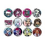 Monster High Buttons Pins