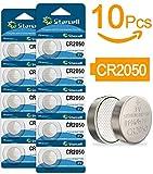 Starcell 10Pcs CR2050 3 V batteria a bottone al litio prodotto di marca