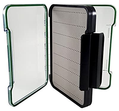 Kingfisher Extra Large Sized Magnum Tough Fly Box for Fly Fishing- Item 1270