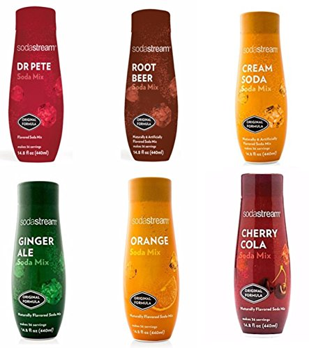 SodaStream 14.8 fl Ounce - Specialty Flavors Variety Pack