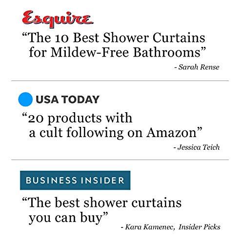 LiBa PEVA 8G Bathroom Shower Curtain Liner, 72