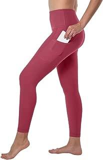 Side Pocket with Back Zipper Hi Rise Ankle Tight Legging