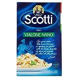 Riso Scotti - Riso Vialone Nano - Riso per Risotti Cremosi Pronto in 15' - 1 kg...